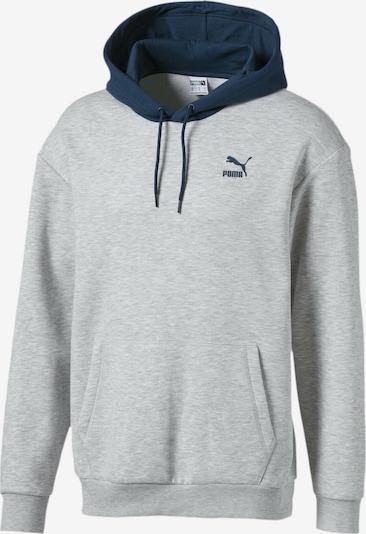 PUMA Sweatshirt in saphir / graumeliert, Produktansicht