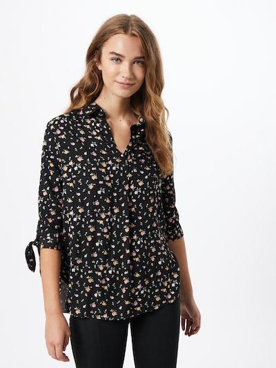 Hailys Blouse 'Belina' in de kleur Gemengde kleuren / Zwart, Modelweergave