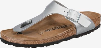 Pantofi deschiși 'Gizeh S' BIRKENSTOCK pe argintiu, Vizualizare produs
