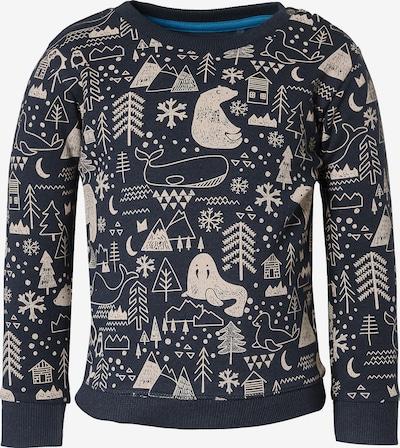 Noppies Sweater 'Adams' in dunkelblau / grau: Frontalansicht