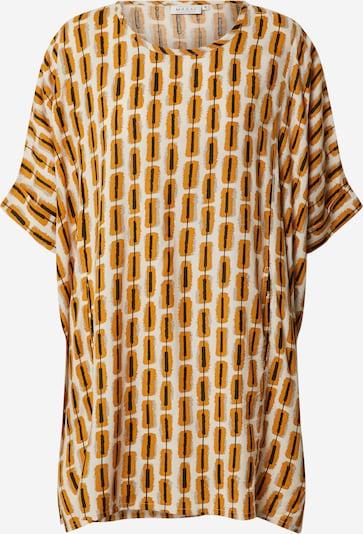 Masai Chemisier 'Galene' en beige / jaune d'or / noir, Vue avec produit