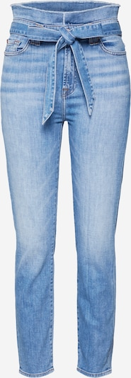 7 for all mankind Jean 'PAPERBAG WAIST PANT' en bleu denim, Vue avec produit