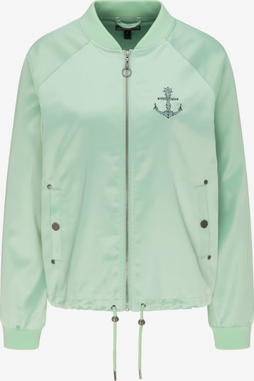 DREIMASTER Satinblouson in mint, Produktansicht