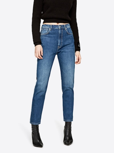 Pepe Jeans Jean 'BETTY' en bleu denim: Vue de face