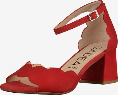GADEA Sandalen in rot, Produktansicht