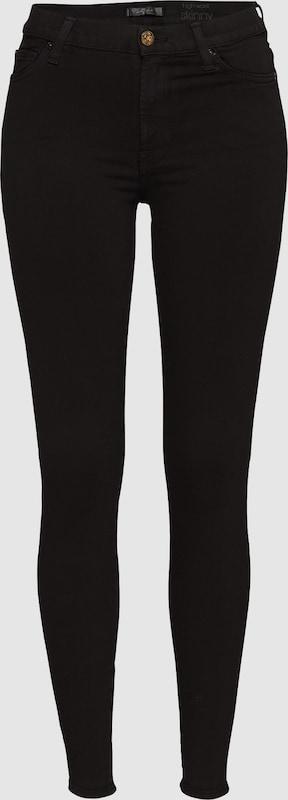 7 for all mankind Klassische Skinny Jeans 'HW SKINNY' in schwarz  Große Preissenkung