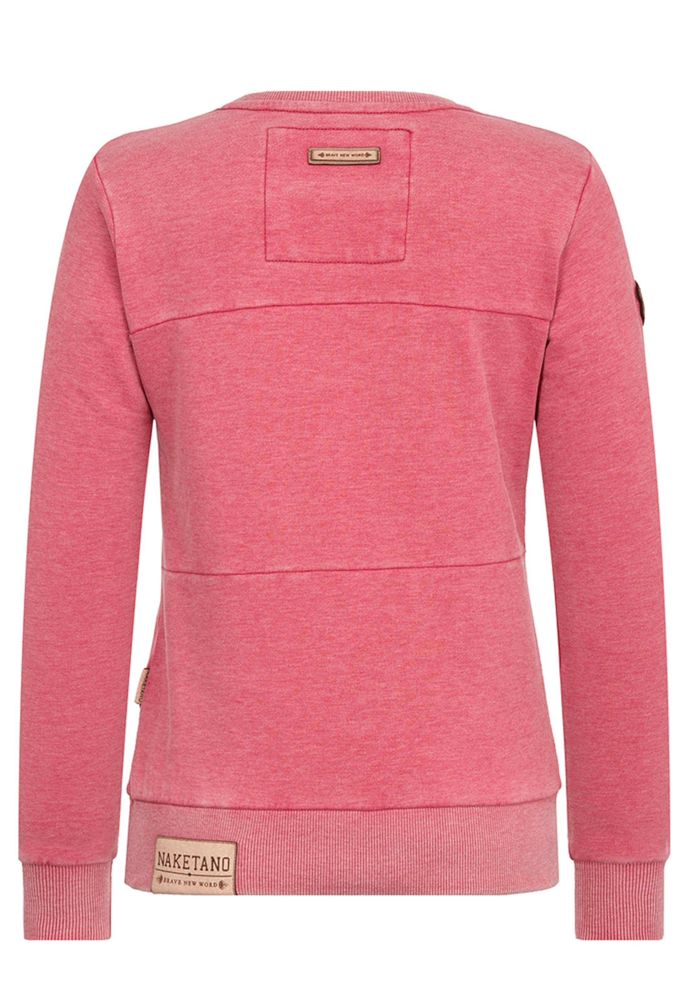Naketano En Sweat shirt Rose 'daisy' Chiné CQoeEdxWrB