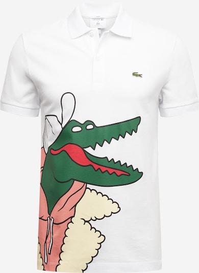 LACOSTE Lacoste X Jeremyville Poloshirt in mischfarben / weiß, Produktansicht