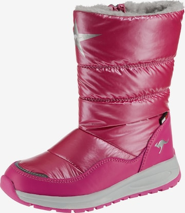 KangaROOS Winterstiefel 'K-CONFI RTX' in Pink