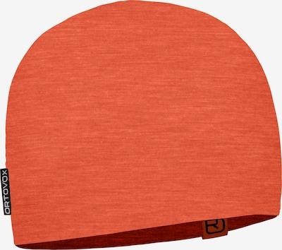 ORTOVOX Beanie '120 Tec' in orange, Produktansicht