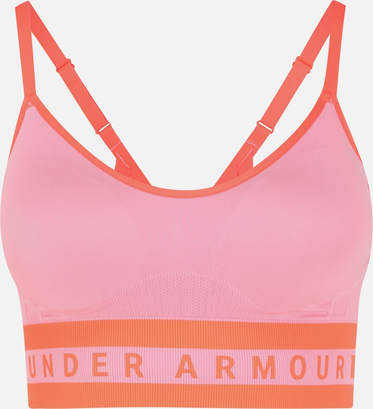 UNDER ARMOUR Sport-BH in pink, Produktansicht