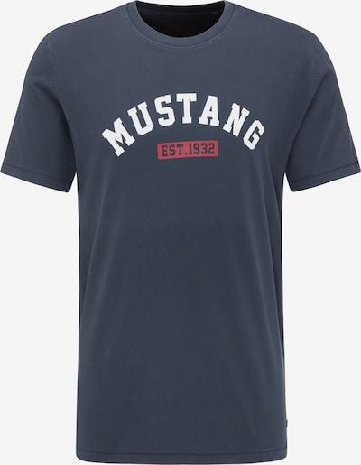 MUSTANG T-Shirt ' Alex ' in navy / rot / weiß, Produktansicht