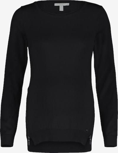 Esprit Maternity Sweatshirt in de kleur Zwart: Vooraanzicht