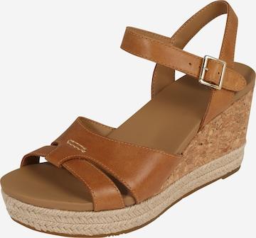 Sandale 'CLOVERDALE' de la UGG pe maro