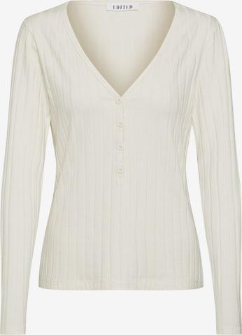 T-shirt 'Anjana' EDITED en blanc