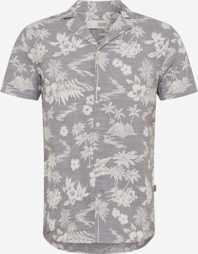 !Solid Hemd 'Brando Cuba Palm' in grau, Produktansicht