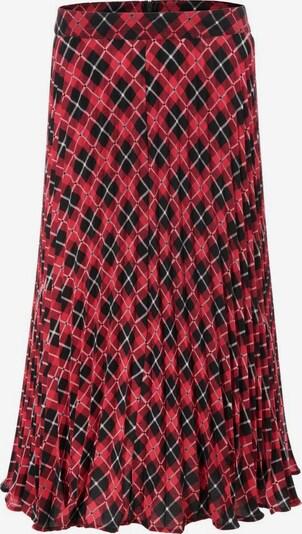 Aniston CASUAL Rock in rot / schwarz / weiß, Produktansicht