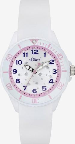 s.Oliver Uhr 'SO-3635-PQ' in Weiß