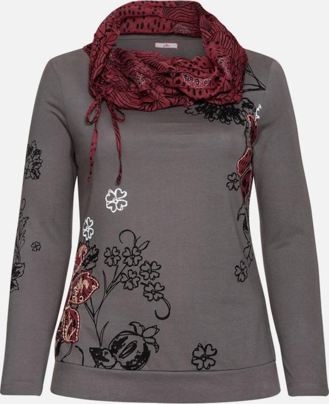 JOE braunS Langarmshirt in in in grau  Mode neue Kleidung 39a273