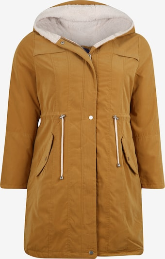 ABOUT YOU Curvy Jacke 'Catherine' in senf: Frontalansicht