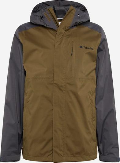 COLUMBIA Winterjas 'Cabot Trail' in de kleur Olijfgroen / Zwart, Productweergave