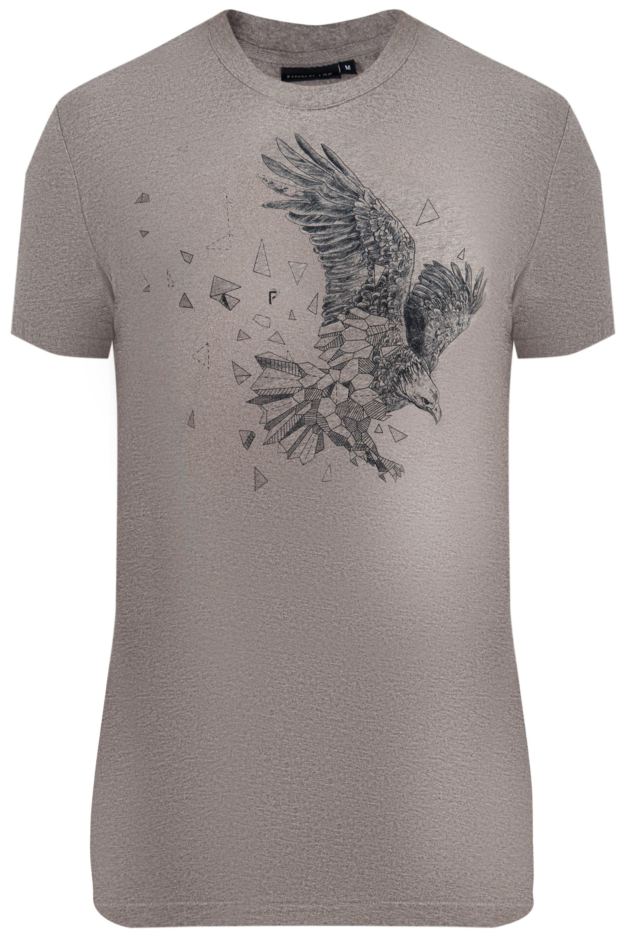 T Flare shirt TaupeSchwarz In Finn NwX0Pk8nO