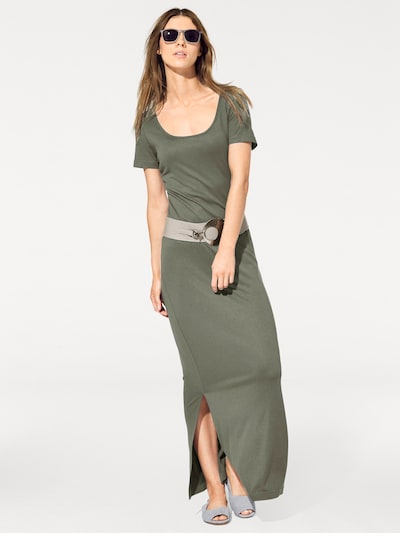 Rick Cardona by heine Kleid in oliv, Modelansicht