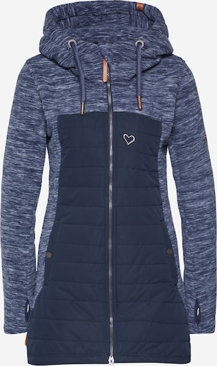 Alife and Kickin Between-season jacket 'Charlotte' in Marine / Night blue / White, Item view