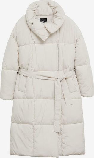 MANGO Płaszcz zimowy w kolorze białym, Podgląd produktu