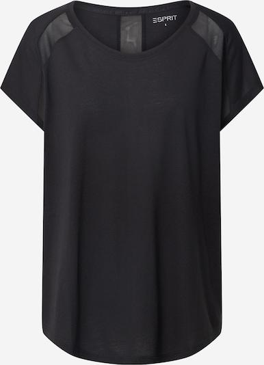 ESPRIT SPORT Functioneel shirt in de kleur Zwart, Productweergave