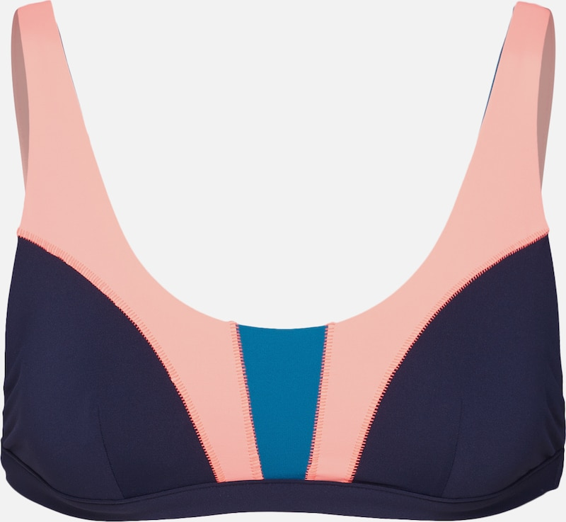 Colorblock IndigoBlanc Curl Rip De 'mirage Bra' En Hauts Bikini I7Yyb6fgv