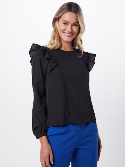VERO MODA Bluse in schwarz, Modelansicht
