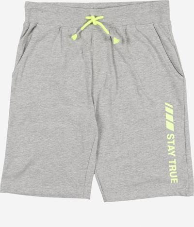 STACCATO Kalhoty - šedý melír: Pohled zepředu