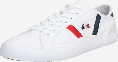LACOSTE Trampki niskie 'SIDELINE TRI2 CMA' w kolorze granatowy / czerwony / białym, Podgląd produktu