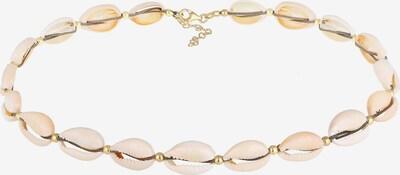 ELLI Kette 'Muschel' in beige / gold, Produktansicht