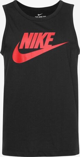 piros / fekete Nike Sportswear Póló 'Nike Sportswear', Termék nézet