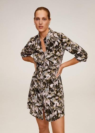MANGO Kleid cascabe2 in khaki: Frontalansicht