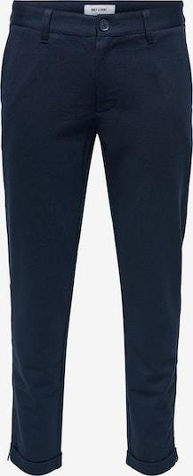 Only & Sons Klassische Hose in blau, Produktansicht