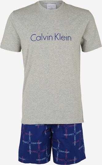 Calvin Klein Underwear Pyjama in marine / graumeliert, Produktansicht