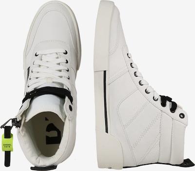 DIESEL Sneaker 'D-Velows' in naturweiß: Seitenansicht