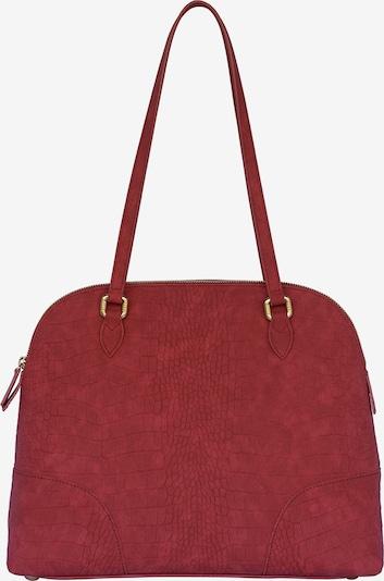 Silvio Tossi Handtasche in weinrot, Produktansicht