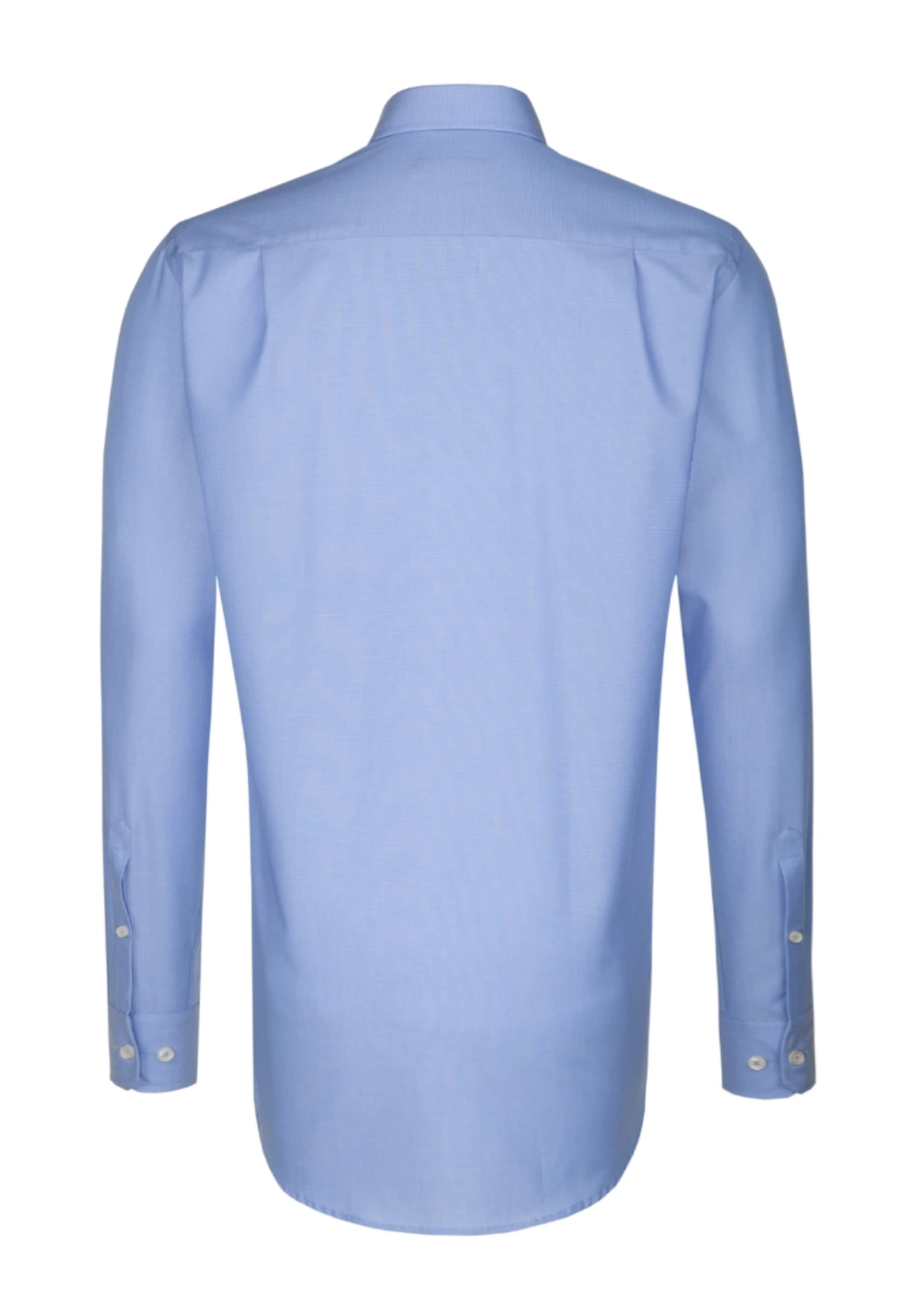 ' In Modern City Blau Seidensticker hemd dCxoBEQreW