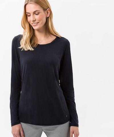 BRAX Shirt 'Caren' in nachtblau: Frontalansicht