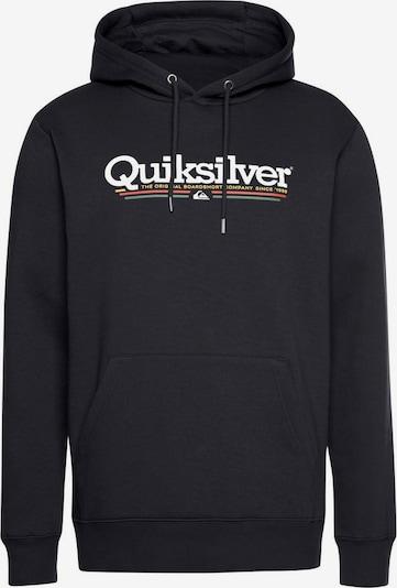 QUIKSILVER Sweatshirt in grün / orange / schwarz / weiß, Produktansicht