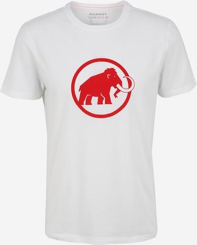 MAMMUT Koszulka funkcyjna w kolorze czerwony / białym, Podgląd produktu