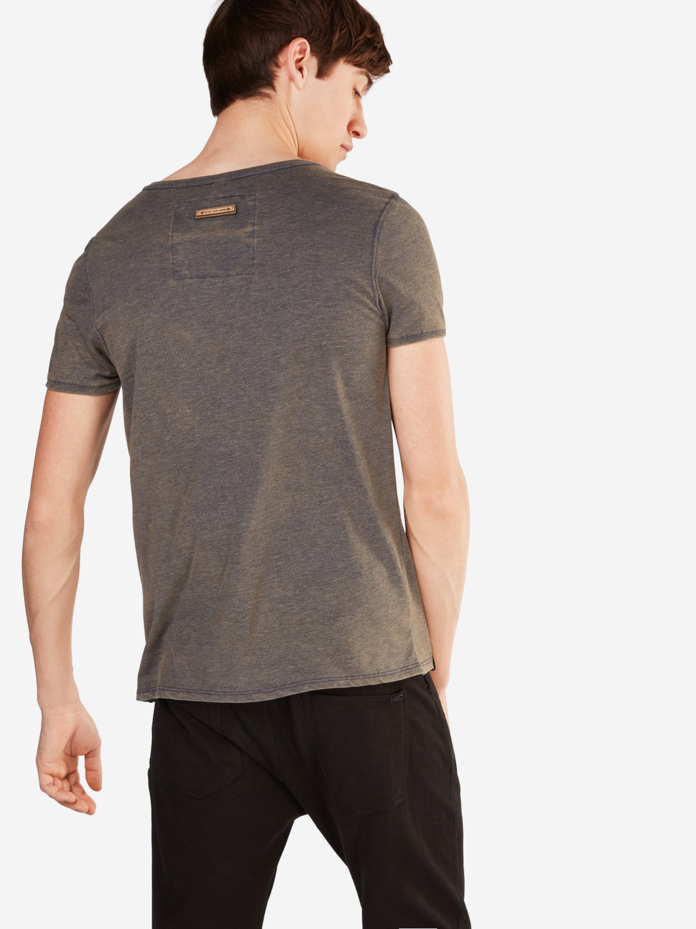 Naketano GreigeViolet Clair 'schimpanski' En T shirt DIYE2eWH9b