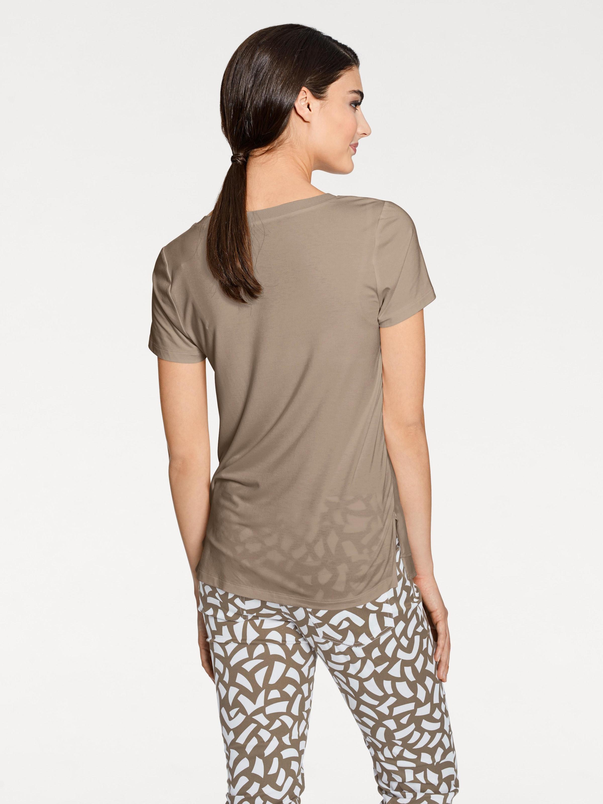 Heine Shirt Taupe Heine Heine Taupe Shirt In In In Shirt kPXZiuO
