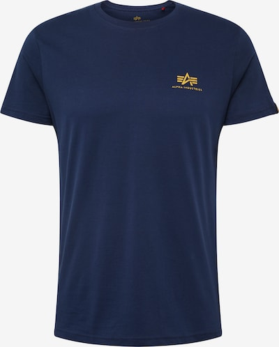 ALPHA INDUSTRIES T-Shirt en bleu marine: Vue de face