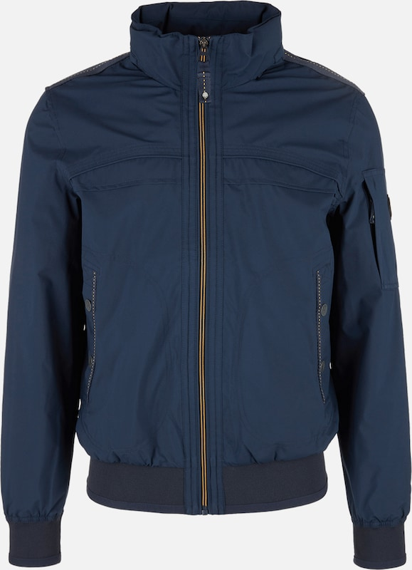 S.Oliver rot LABEL Jacke in navy  Markenkleidung für Männer und Frauen