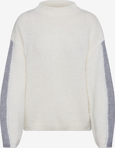Lee Pullover 'CHUNKY KNIT' in grau / weiß, Produktansicht